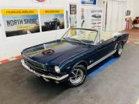 1966 Ford Mustang - CONVERTIBLE - 289 V8 - 4 SPEED MANUAL TRANS -