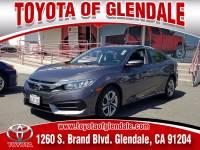 Used 2018 Honda Civic for Sale at Dealer Near Me Los Angeles Burbank Glendale CA Toyota of Glendale   VIN: 2HGFC2F58JH514127
