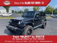 Used 2012 Jeep Wrangler Unlimited Sahara Convertible