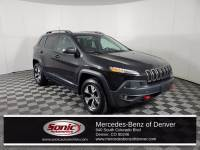 Pre-Owned 2017 Jeep Cherokee Trailhawk 4x4 SUV in Denver