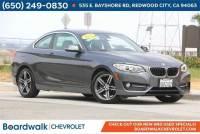 Used 2017 BMW 2 Series For Sale at Boardwalk Auto Mall   VIN: WBA2F9C34HV984217