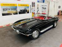 1967 Chevrolet Corvette - CONVERTIBLE - REAL BLACK/RED COLOR COMBO - TANK STICKER - SEE VIDEO
