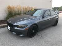 Mineral Gray Metallic Used 2014 BMW 3 Series 4dr Sdn 320i RWD For Sale in Moline IL   PV21286A