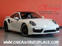 2019 Porsche 911 Turbo - 3.8L TWIN-TURBOCHARGED 6-CYL ENGINE RED LEATHER HEATED/COOLED SEATS NAVIGATION BACKUP CAMERA PARKING SENSORS SUNROOF