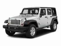 Used 2015 Jeep Wrangler Unlimited Wrangler X SUV