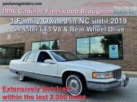 Used 1996 Cadillac Fleetwood Brougham For Sale at Paul Sevag Motors, Inc. | VIN: 1G6DW52P7TR711107