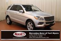 Pre-Owned 2015 Mercedes-Benz M-Class ML 350 in Fort Myers