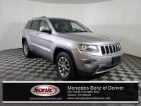 Pre-Owned 2015 Jeep Grand Cherokee Limited 4x4 SUV in Denver