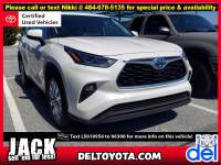 Certified Pre-Owned 2020 Toyota Highlander Hybrid For Sale in Thorndale, PA | Near Malvern, Coatesville, West Chester & Downingtown, PA | VIN:5TDXBRCH1LS010956