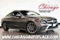 2020 Mercedes-Benz C-Class Coupe AMG C 43 4MATIC - 3.0L BITURBO V6 ENGINE ALL WHEEL DRIVE NAVIGATION TOP VIEW CAMERAS KEYLESS GO BLACK LEATHER HEATED SEATS SUNROOF BLUETOOTH