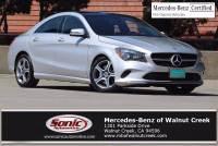 2018 Mercedes-Benz CLA 250 CLA 250 in Walnut Creek