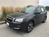Dark Gray Metallic Used 2018 Subaru Forester 2.5i Premium CVT For Sale in Moline IL   PS21272