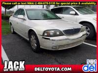 Used 2004 Lincoln LS w/Luxury Pkg For Sale in Thorndale, PA   Near West Chester, Malvern, Coatesville, & Downingtown, PA   VIN: 1LNHM86S74Y632317
