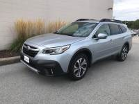 Ice Silver Metallic Used 2020 Subaru Outback Limited CVT For Sale in Moline IL | S22130A