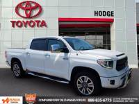 Used 2018 Toyota Tundra 4WD 4WD Platinum CrewMax 5.5' Bed 5.7L