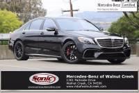 2020 Mercedes-Benz AMG S 63 AMG S 63 in Walnut Creek