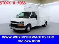 2018 Chevrolet Express 3500 ~ 11ft. Utility Cutaway ~ Only 9K Miles!