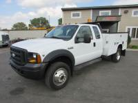 Used 2006 Ford F-450 4x4 Ex Cab Service Utility Truck