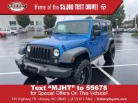 Used 2016 Jeep Wrangler Unlimited Black Bear Convertible