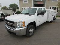 Used 2007 Chevrolet 3500HD 4x4 Extended Cab Service Utility Truck