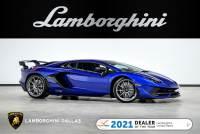Used 2020 Lamborghini Aventador SVJ Coupe For Sale Richardson,TX | Stock# LC735 VIN: ZHWUM6ZD7LLA09029