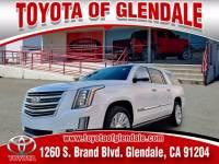 Used 2017 Cadillac Escalade ESV for Sale at Dealer Near Me Los Angeles Burbank Glendale CA Toyota of Glendale   VIN: 1GYS4KKJ5HR223263
