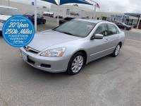 Used 2006 Honda Accord EX For Sale in Bakersfield near Delano   1HGCM66896A055018