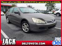 Used 2006 Honda Accord Sdn EX-L For Sale in Thorndale, PA   Near West Chester, Malvern, Coatesville, & Downingtown, PA   VIN: 1HGCM56806A025495