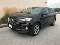 Agate Black Metallic Used 2019 Ford Edge SEL AWD For Sale in Moline IL | P21304A
