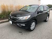 Crystal Black Pearl Used 2016 Honda CR-V AWD 5dr EX-L For Sale in Moline IL   S211147C