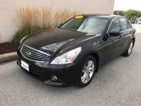 Black Obsidian Used 2012 INFINITI G37 4dr x AWD For Sale in Moline IL | S211291B