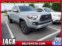 Used 2018 Toyota Tacoma TRD Sport For Sale in Thorndale, PA | Near West Chester, Malvern, Coatesville, & Downingtown, PA | VIN: 5TFSZ5AN0JX161527