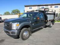 Used 2011 Ford F-450 4x2 Crew Cab Flat-Bed