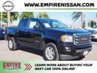 Used 2019 GMC Canyon SLE for Sale at Dealer Near Me Fontana Upland Ontario CA - Empire Nissan   1GTG5CEN0K1340087
