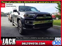 Certified Pre-Owned 2018 Toyota 4Runner For Sale in Thorndale, PA | Near Malvern, Coatesville, West Chester & Downingtown, PA | VIN:JTEBU5JR8J5604225