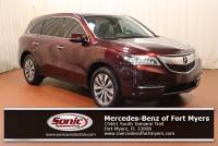 Pre-Owned 2016 Acura MDX w/Tech in Fort Myers